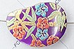 Beads,Joolri Floral Paints in Shell